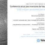 Conferencia para Inversores - Value Tree - 2020